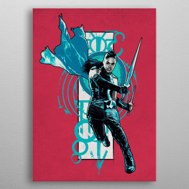 High-quality metal print from amazing Thor Ragnarok Heroic Stature collection will bring unique style to your space and will show off your personality. metal poster