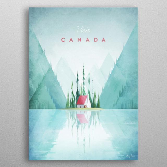Canada metal poster
