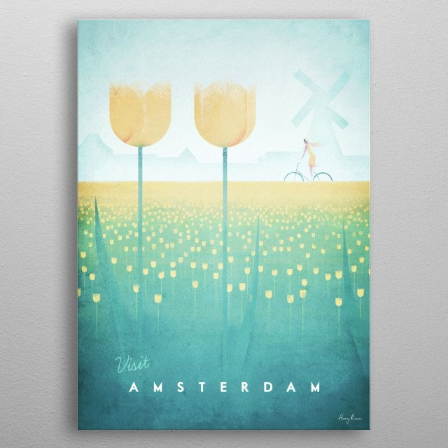 Amsterdam metal poster