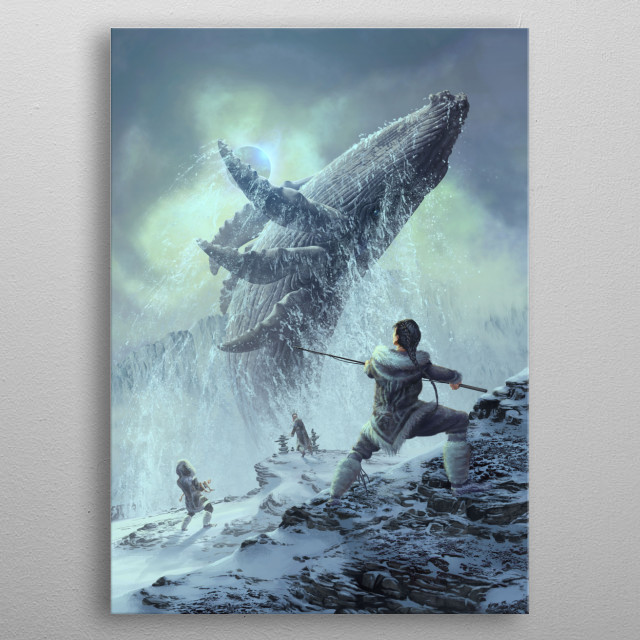 High-quality metal wall art meticulously designed by eranfowler would bring extraordinary style to your room. Hang it & enjoy. metal poster
