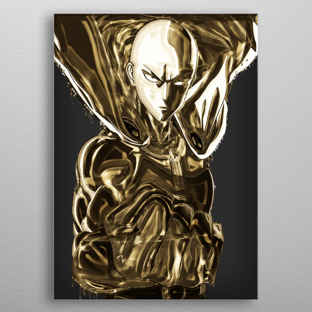 OnePunchMan / 18k collections metal poster