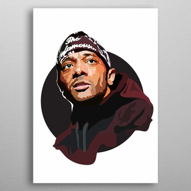 High-quality metal print from amazing Famous Faces collection will bring unique style to your space and will show off your personality. metal poster