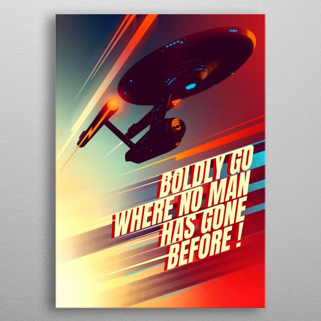 This marvelous metal poster designed by mrjackpots to add authenticity to your place. Display your passion to the whole world. metal poster