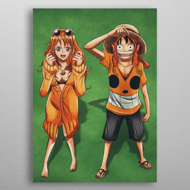 Straw Hat Pirates 01 metal poster
