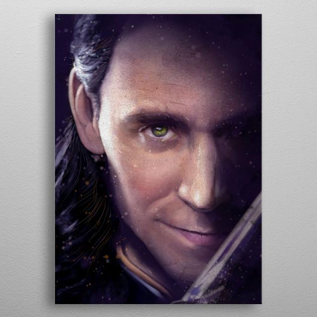 Loki metal poster