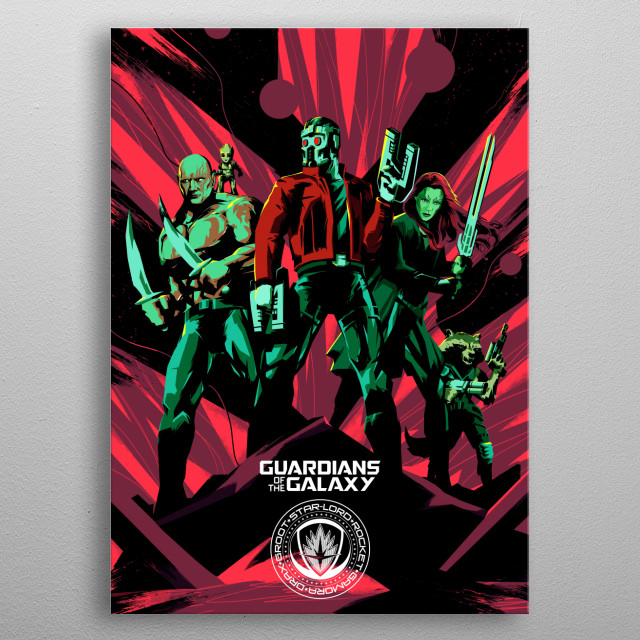 Team metal poster