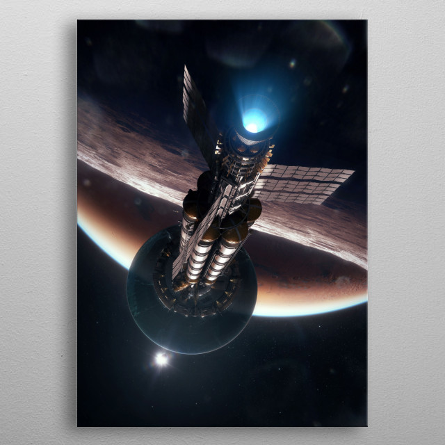 Fascinating metal poster designed by Tobias Roetsch. Displate has a unique signature and hologram on the back to add authenticity to each design. metal poster