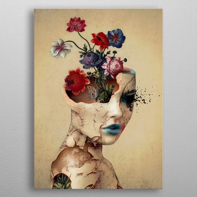 Broken Beauty metal poster