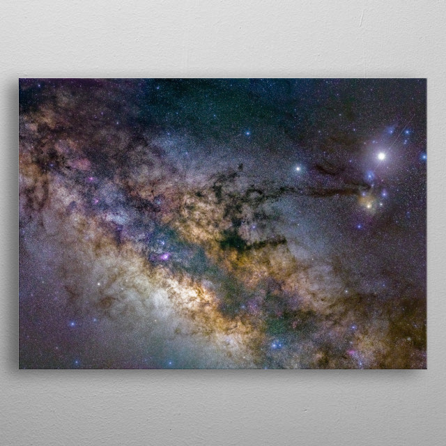 This marvelous metal poster designed by Amol to add authenticity to your place. Display your passion to the whole world. metal poster