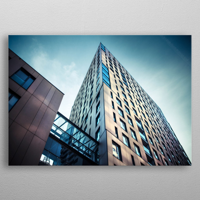 High-quality metal print from amazing Architecture collection will bring unique style to your space and will show off your personality. metal poster