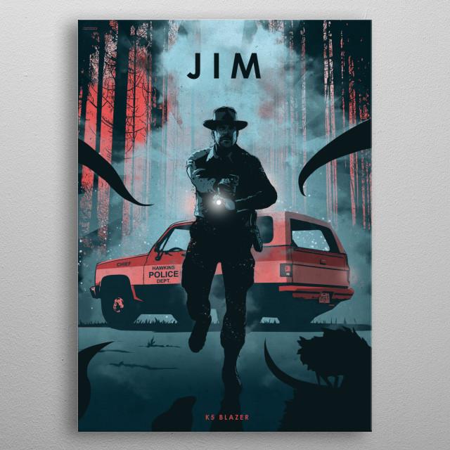 Jim metal poster