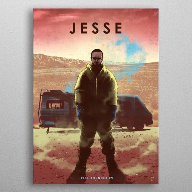 Jesse metal poster
