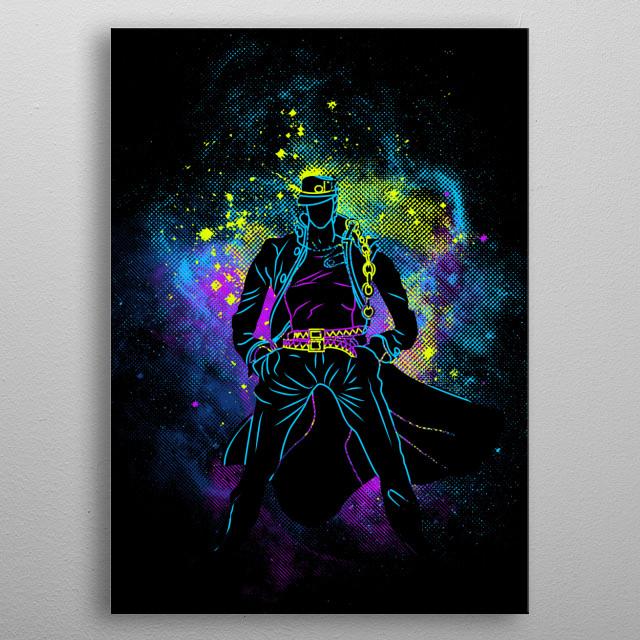 Jotaro Art metal poster
