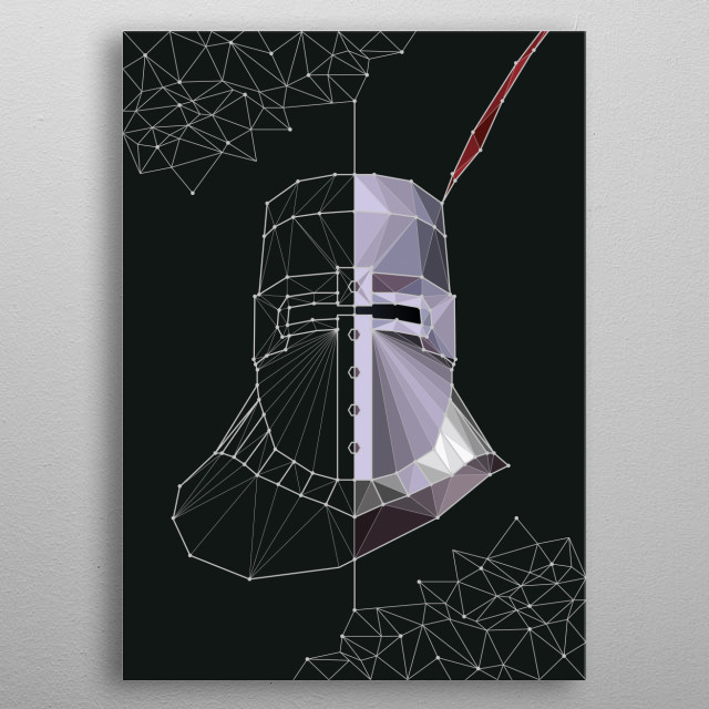 High-quality metal print from amazing Gaming Constellation collection will bring unique style to your space and will show off your personality. metal poster