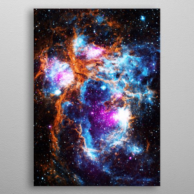 Cosmic Winter metal poster