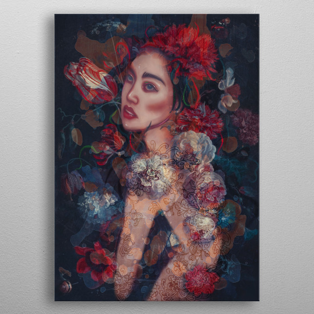 High-quality metal print from amazing Spiritual And Fantasy Paintings collection will bring unique style to your space and will show off your personality. metal poster