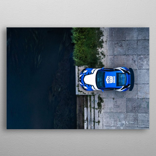 Nissan 350Z metal poster