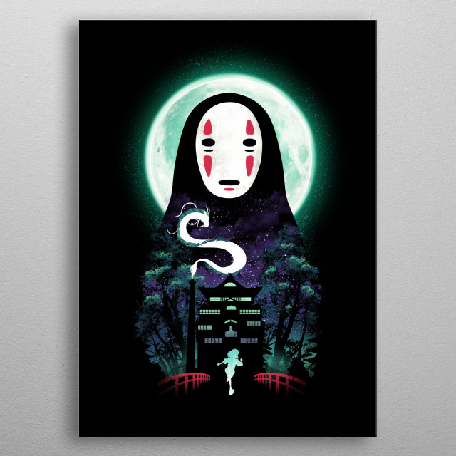 River Flows in You metal poster