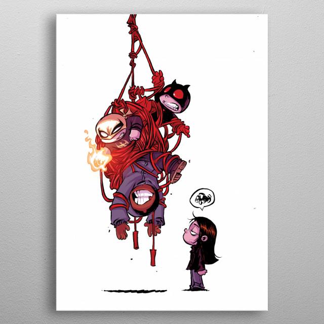 Tangled  metal poster
