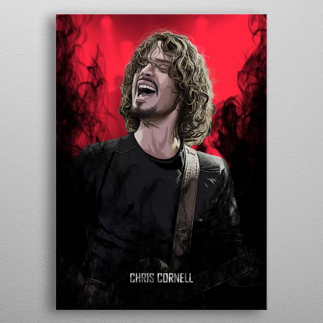 Chris Cornell  metal poster
