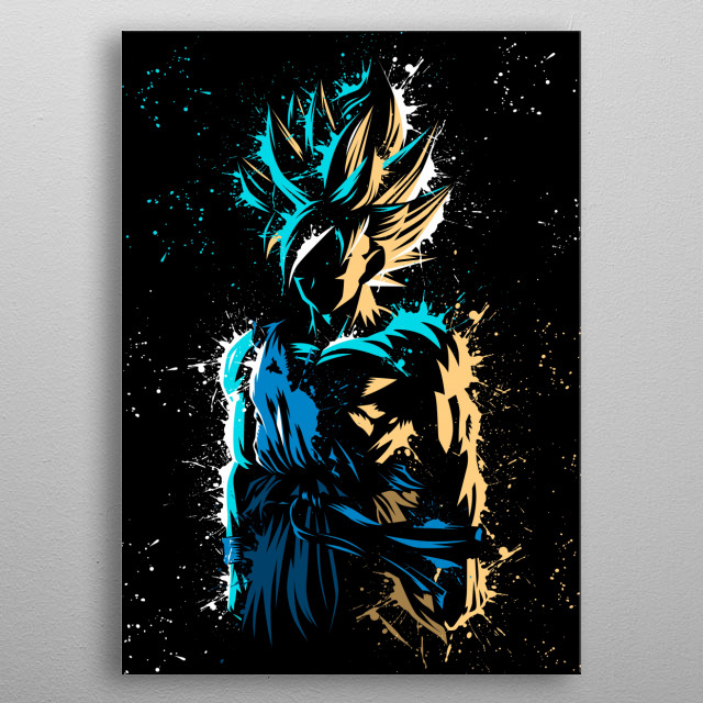 Splatter super Legend metal poster