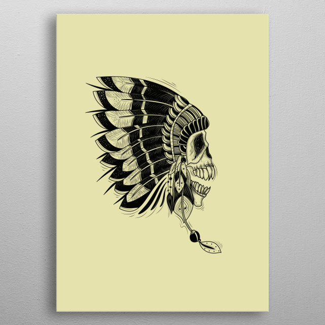 This marvelous metal poster designed by dzitkom to add authenticity to your place. Display your passion to the whole world. metal poster