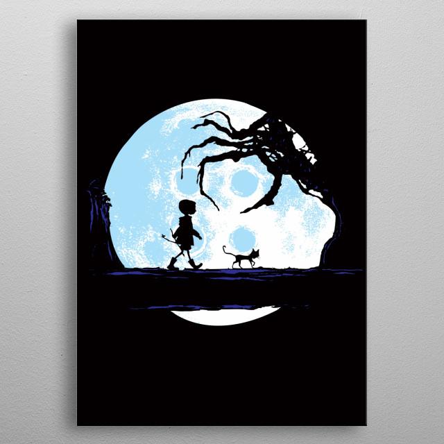 Perfect Moonwalk metal poster
