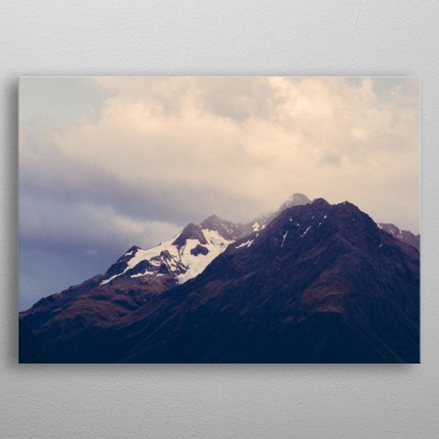 High-quality metal print from amazing Mountains collection will bring unique style to your space and will show off your personality. metal poster