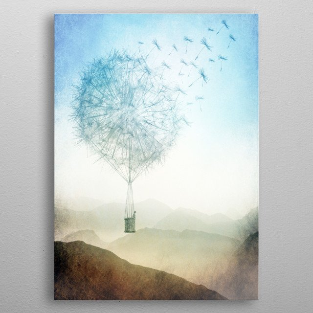 One Fine Day metal poster