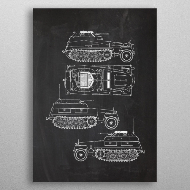 High-quality metal print from amazing Vehicles Patent Drawing No1 collection will bring unique style to your space and will show off your personality. metal poster