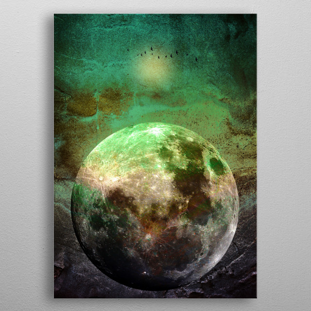 This marvelous metal poster designed by piaschneider to add authenticity to your place. Display your passion to the whole world. metal poster