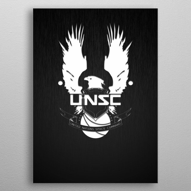 High-quality metal print from amazing Logo And Icons collection will bring unique style to your space and will show off your personality. metal poster