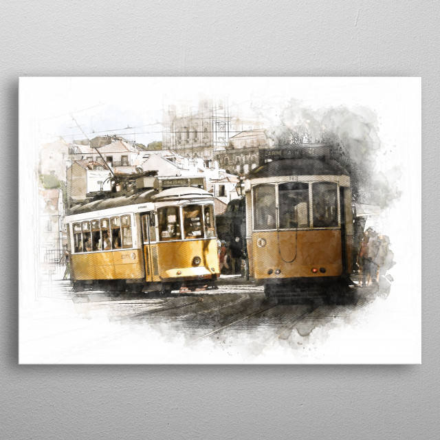 High-quality metal print from amazing Sketch World collection will bring unique style to your space and will show off your personality. metal poster