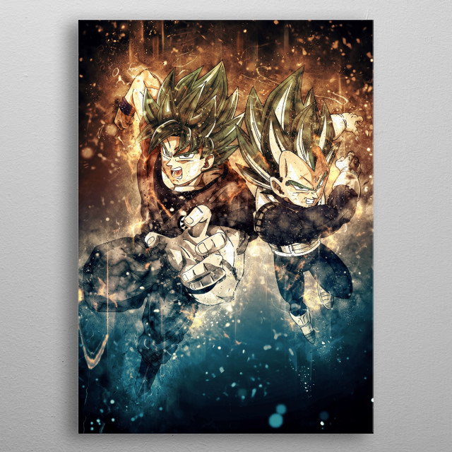 Fascinating metal poster designed by Trần Văn Dũng. Displate has a unique signature and hologram on the back to add authenticity to each design. metal poster