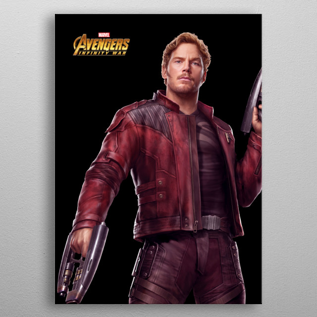 Star-Lord metal poster
