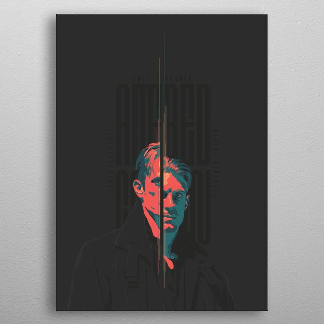 Altered Carbon metal poster