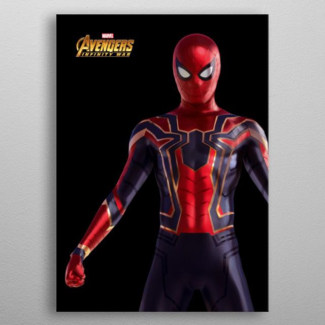 Spider-Man metal poster