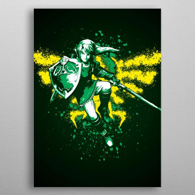 Heroic metal poster