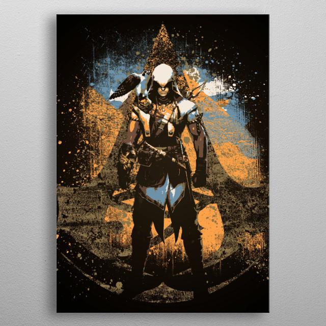 Original Assassin metal poster