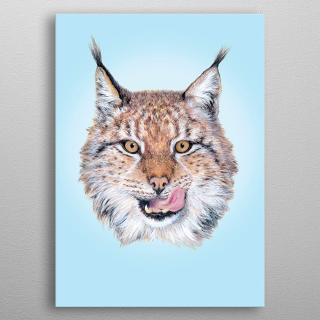 High-quality metal print from amazing Cute Animal Drawings collection will bring unique style to your space and will show off your personality. metal poster