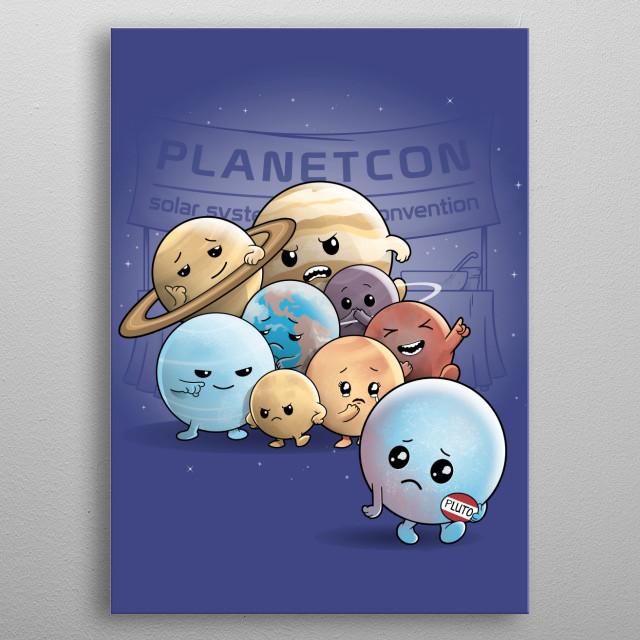 Planet No More metal poster