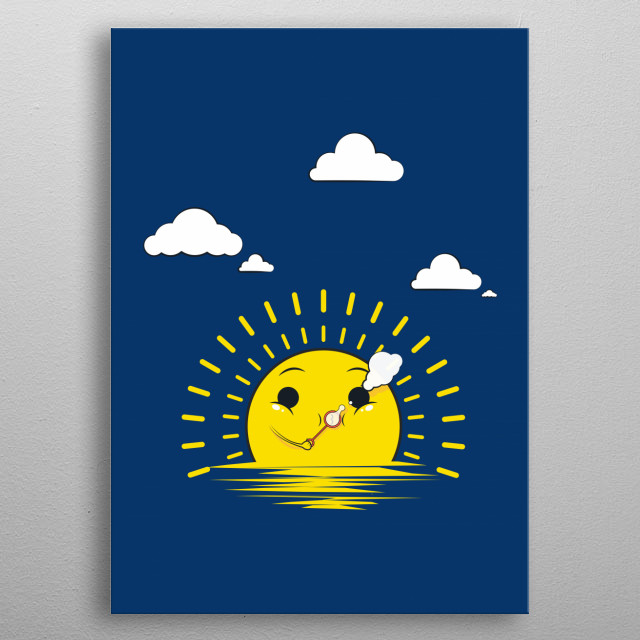 High-quality metal print from amazing Funny collection will bring unique style to your space and will show off your personality. metal poster