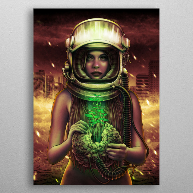 Winya No. 135 metal poster