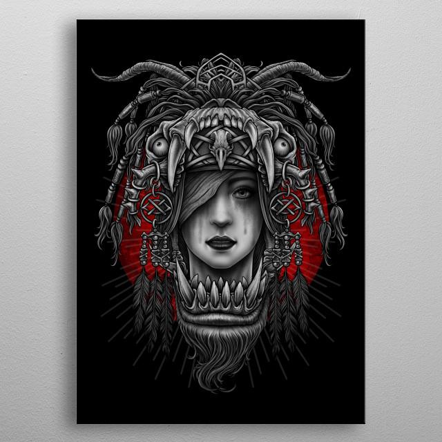 Winya No. 125 metal poster