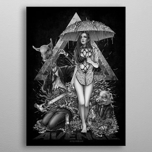 Winya No. 114 metal poster