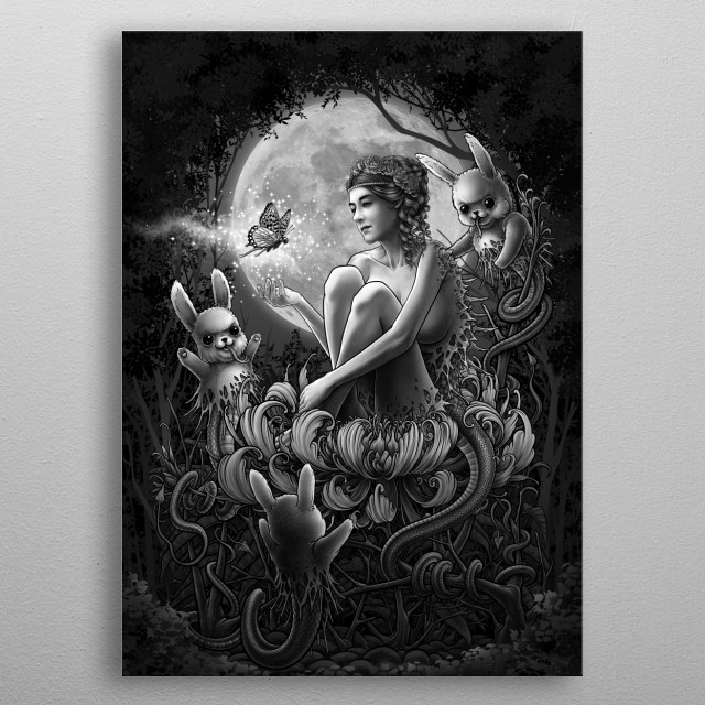 This marvelous metal poster designed by Winya to add authenticity to your place. Display your passion to the whole world. metal poster