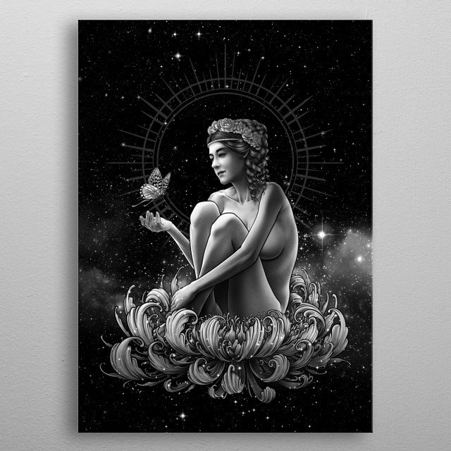 High-quality metal wall art meticulously designed by Winya would bring extraordinary style to your room. Hang it & enjoy. metal poster