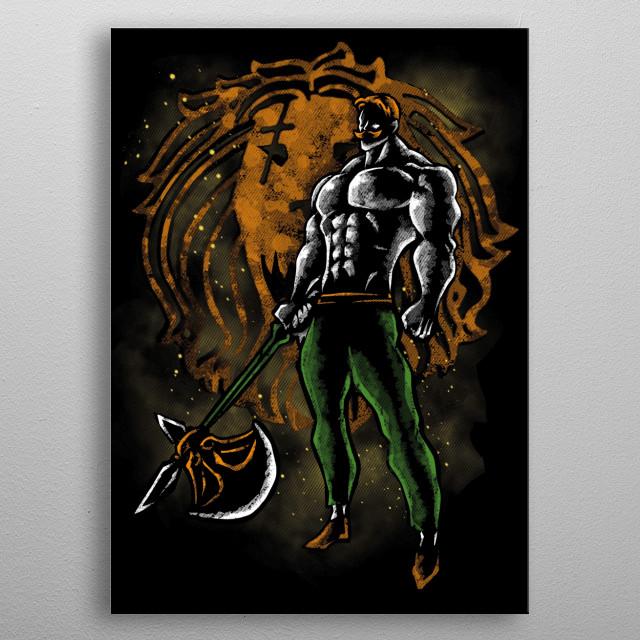 Pride Hero metal poster