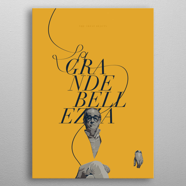 The Great Beauty / La grande bellezza  metal poster
