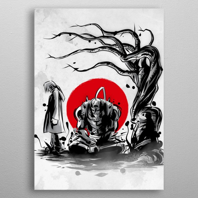 Fascinating metal poster designed by Denis Orio Ibañez. Displate has a unique signature and hologram on the back to add authenticity to each design. metal poster
